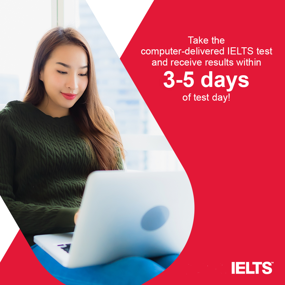 computer-delivered IELTS at ILSC San Francisco and ILSC New York